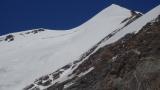 Gipfelflanke des Castor