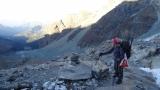 Tag 2: Aufstieg zum Rifugio Guides Val d'Ayas