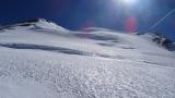 Freie Sicht auf den Gipfel